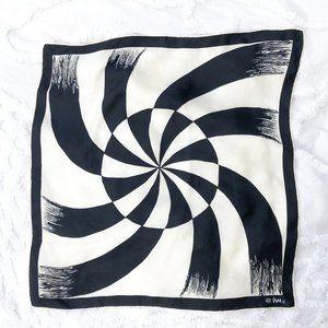 Vera Mod 1960s 100% Silk Square Neckerchief